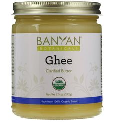 Banyan Botanicals Ghee - Certified Organic - From Grass Fed Cows - 7.5 oz - Gourmet Clarified Butter >>> Don't get left behind, see this great  product