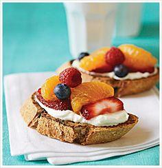 Fruit Bruschetta - The Eat Clean Diet