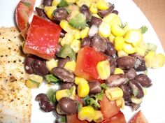Black Bean Salad in 15-Minutes