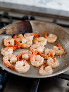 For a Midwestern girl who didn't see the ocean until she was in her teens, I have fallen hard for shrimp. It helps that I married a New Englander who requires plates of these plump little morsels on a regular basis in order to keep all systems functional. It also helps that shrimp are so easy — the effort-to-reward ratio is high with this particular seafood. Even pulled straight from the freezer, I can have a platter of quick-sautéed shrimp on the table in 15 minutes flat. Add a bowl of…