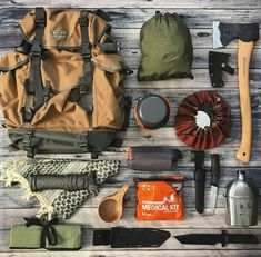 15 Items for your ultimate bug out bag list – Lightweight and Multifunctional – … – Beverly Gates – bushcraft camping Bushcraft Camping, Bushcraft Pack, Bushcraft Backpack, Kayak Camping, Camping Survival, Outdoor Survival, Survival Prepping, Survival Gear, Survival Skills