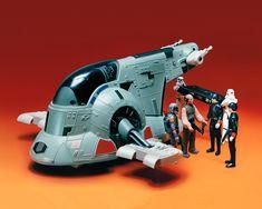 Vintage Kenner Star Wars Slave I (Boba Fett's Spaceship) Retro Toys, Vintage Toys, 90s Toys, War Comics, Star Wars Action Figures, Star Wars Toys, Star Wars Collection, Childhood Toys, Star Wars Episodes