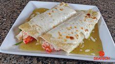 Chilean King Crab Enchiladas
