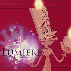 30 Day Disney Challenge - Day 12, Fav Non-Animal Sidekick - Lumiere