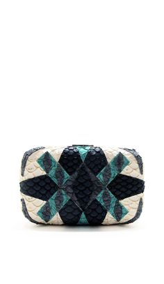 Fish Leather Box Clutch - KLutched  http://www.commelaneige.com/products/