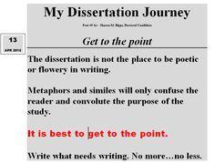 Dissertation Journey #1 4/1/12 Sharon M. Biggs