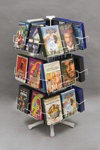 DVD Display - Counter Rack