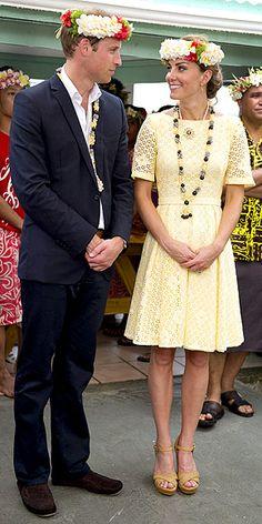 9/18/2012: Tree planting ceremony, with Prince William (Funafuti, Tuvalu)