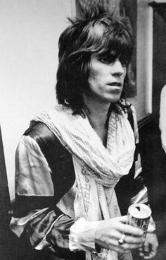 Keith Richards, on the notorious Tour of the America's 1972.