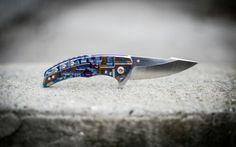 ExtremAddiction.com #knife #knives #blade #knifepics #steel  #Rogovets #custom #customknife #knifemaking  #handmade #titanium #knifephoto  #knifeporn #framelock #extremaddiction