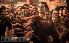 Superman is Jesus and Lex Luthor has hilarious hair in new Batman v Superman images