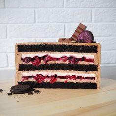 French Desserts, Just Desserts, Fancy Cakes, Mini Cakes, Baking Recipes, Cake Recipes, Inside Cake, Cake Business, Fashion Cakes