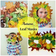 Nature Walk: Autumn Leaf Masks