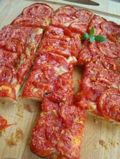 tomato tart from Cooking in Provence