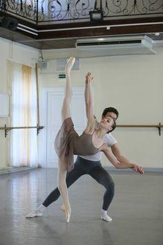 ANASTASIA LUKINA Vaganova Ballet Academy 8th grade student. Photos by Vladimir Frank