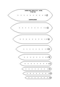 METRIC-TAPERED-ENDS-STRAP-TEMPLATE-SET-FOR-LEATHER-CRAFT-TPSETTSM