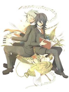 Elliot & Leo from Pandora Hearts