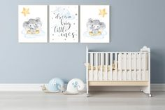 Baby Room Sheep, Sheep Nursery, Nursery Twins, Star Nursery, Baby Room Art, Nursery Name, Elephant Nursery, Baby Room Decor, Nursery Wall Art