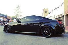 G37 Black on Black