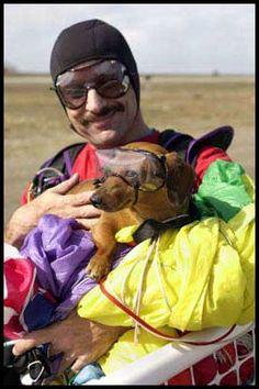 Meet Brutus And Ron Sirull Daredevil Skydivers From Mesa Arizona
