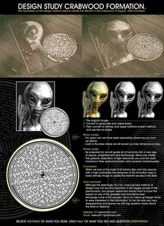 by on DeviantArt Aliens And Ufos, Ancient Aliens, Ancient History, Geometry Art, Sacred Geometry, Real Crop Circles, Alien Facts, Cool Science Facts, Ancient Astronaut Theory