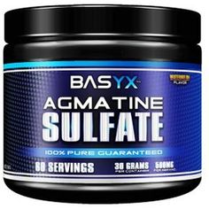 Agmatine Sulfate is a biogenic amine that is derived from the amino acid L-Arginine. This occurs due to a process called decarboxylation, which is the remo