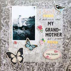 My Grandmother by Margrethe @2peasinabucket