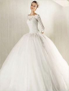 fb965d306b57e Wedding Dresses Cinderella With Sleeves Ball Gowns 44 Ideas Gelinlikler,  Hırıstiyan Evliliği, Elbise Düğün