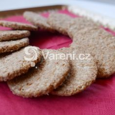 Fotografie receptu: Křupavé ovesné sušenky Cookies, Fit, Recipes, Crack Crackers, Shape, Biscuits, Cookie Recipes, Ripped Recipes