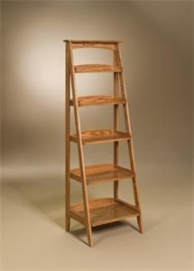 how to build a ladder bookcase bookcase projects built ins rh pinterest com folding ladder display shelves step ladder display shelves