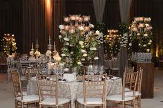 Casamento moderno: mesa de convidados em tons pastel