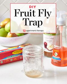 Get Rid of Fruitflies with a Homemade Fruit Fly Trap | Apartment Therapy