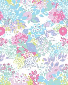 Garden floral BHS - Sarah Papworth