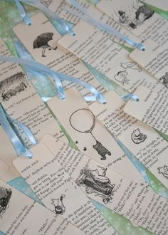 winnie the pooh bookmarks                        sotheysay@Elaine Young