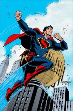 Superman by Tom Grummett, Randy Emberlin, and Gerry Turnbull *
