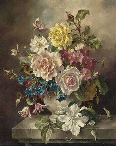 Картины с букетами цветов. | Творческая мастерская Марины Трублиной