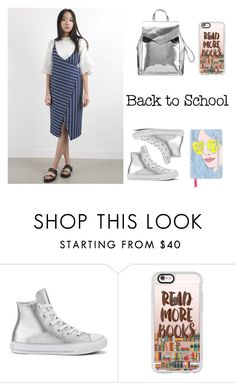 """""""Back-to-school"""" by bastet-noir ❤ liked on Polyvore featuring Converse and Casetify"""