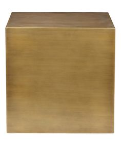 This Brushed Brass Large Side Table by Pangea Home is perfect! #zulilyfinds