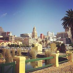 Views from Caste bridge - Cape Town - captured by @jannekedeacon