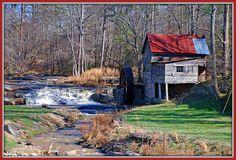 Mill near Helen, Ga