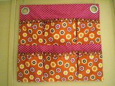 Custom listing Choose Your Fabric Wall Organizer With Pockets on Etsy, R$79,89