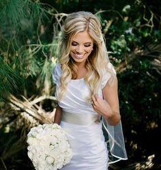 Half Up Wedding Hair With Veil - half up bridal hair with veil, half up bridal hairstyles with veil, half up wedding hair with veil, half up wedding hairstyles with veil, half up wedding hairstyles with veil and tiara