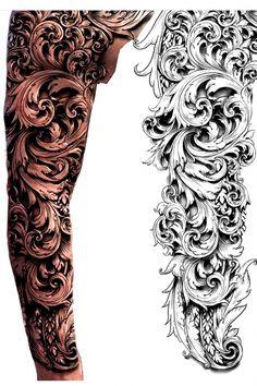 manga del tatuaje de desplazamiento - Búsqueda de Google ,  #búsqueda #del #desplazamiento #Google #manga #Tatuaje #rose tattoo Forarm Tattoos, Leg Tattoos, Body Art Tattoos, Tribal Tattoos, Tattoos For Guys, Stomach Tattoos, Bird Tattoos, Feather Tattoos, Nature Tattoos