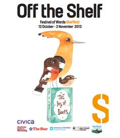 Matt sewell's cover illustration for sheffield's Off the Shelf festival 2013: we woz there!