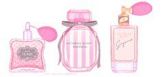 girl perfume bottle illustration - Google Search