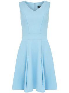 Blue Skater Dress by Dorothy Perkins