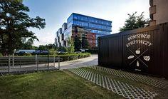Grocer's container in Poznań, design: Nowak and Katarzyna Stawarz-Nowak, 2014, photo: Jeremi Buczkowski / trabendo s.c.