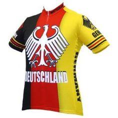 Amazon.com  World Jersey s Men s Germany Deutschland Team Short Sleeve Cycling  Jersey  dd5433dde