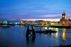 Cardiff - Gales  UK travel