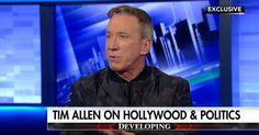 Tim Allen: Hollywood Calls Trump a Bully, Then Bullies Anyone Who Supports Him